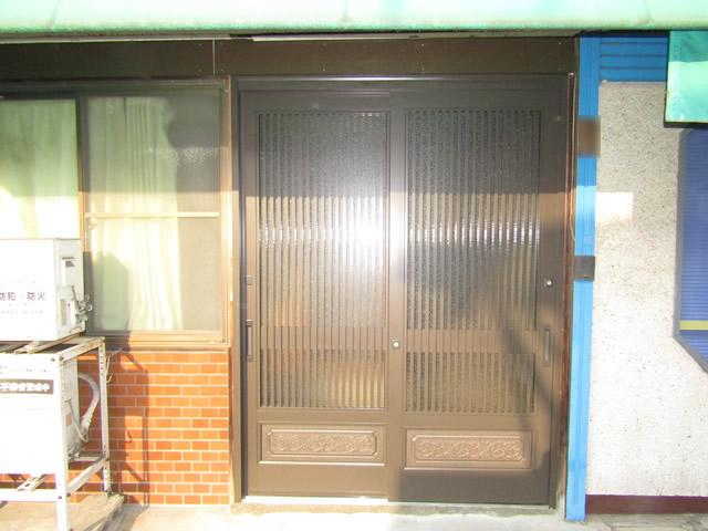玄関リフォーム工事 施工事例 名古屋市港区
