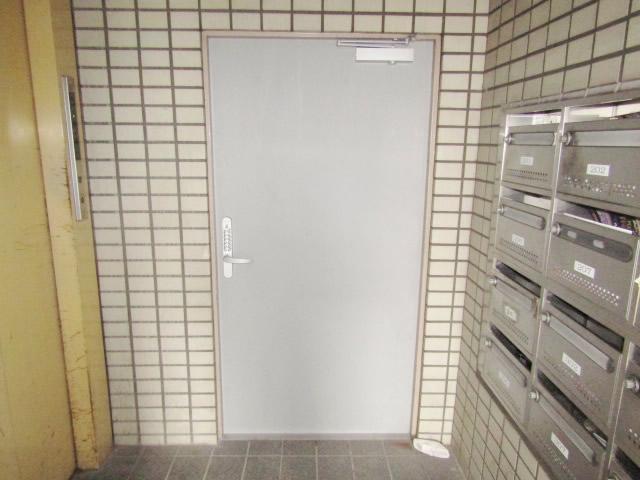 名古屋市熱田区 某マンション スチールドア 内側 施工後