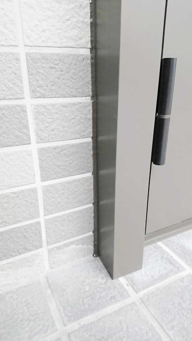 名古屋市西区 リクシル リシェント玄関ドアⅢ リフォーム工事 施工後