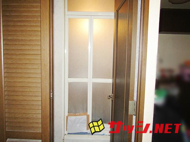 浴室中折れドアSF型 施工事例 名古屋市中村区